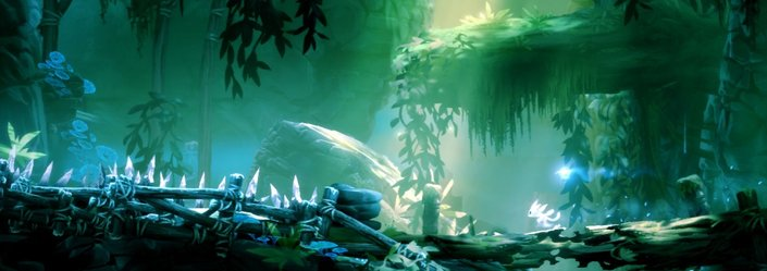 best graphics art 2015 Ori and the Blind Forest