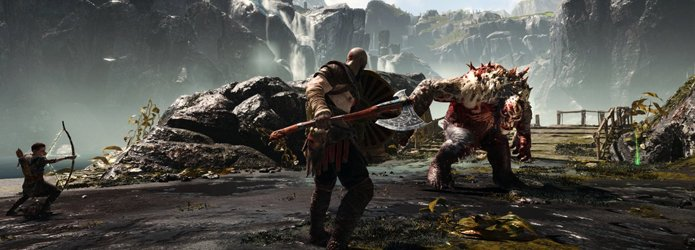 Best Action game 2018 God of War