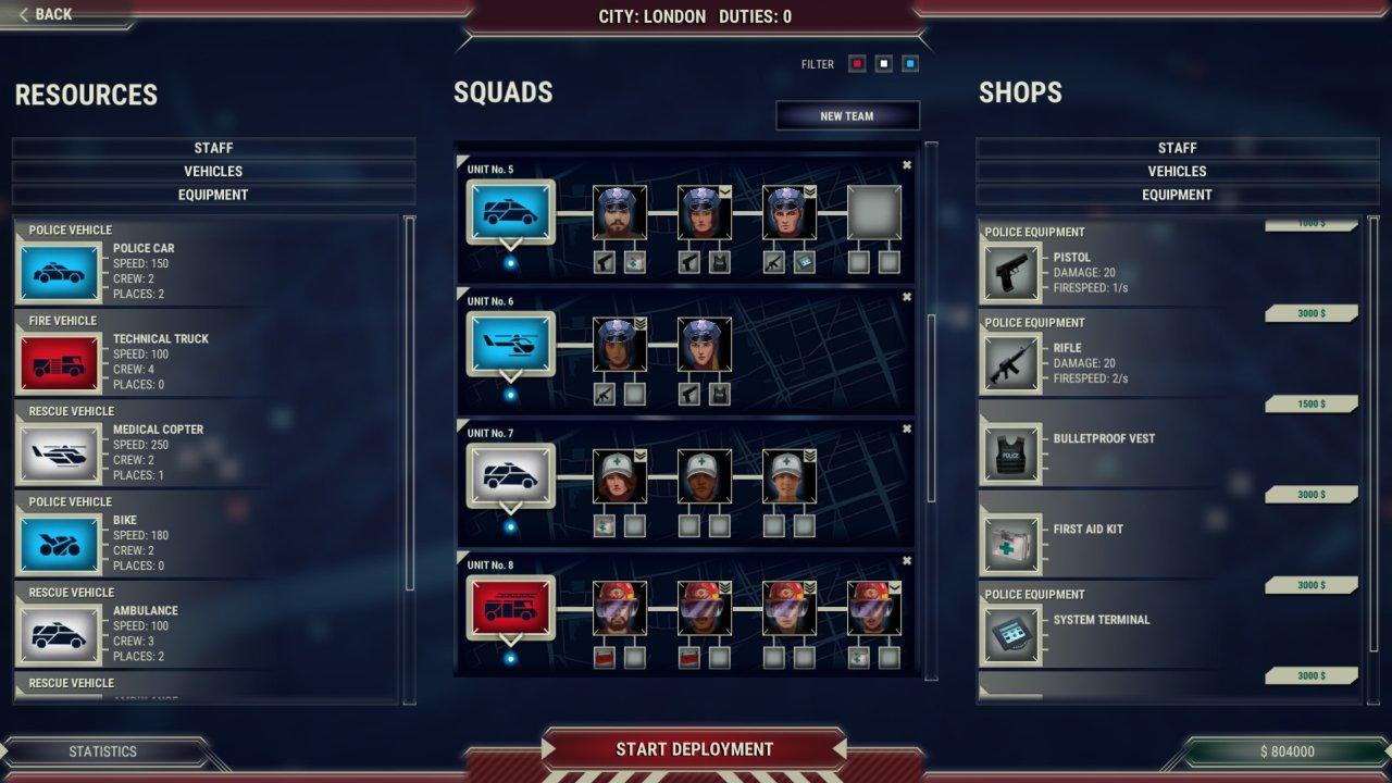 911 Operator game