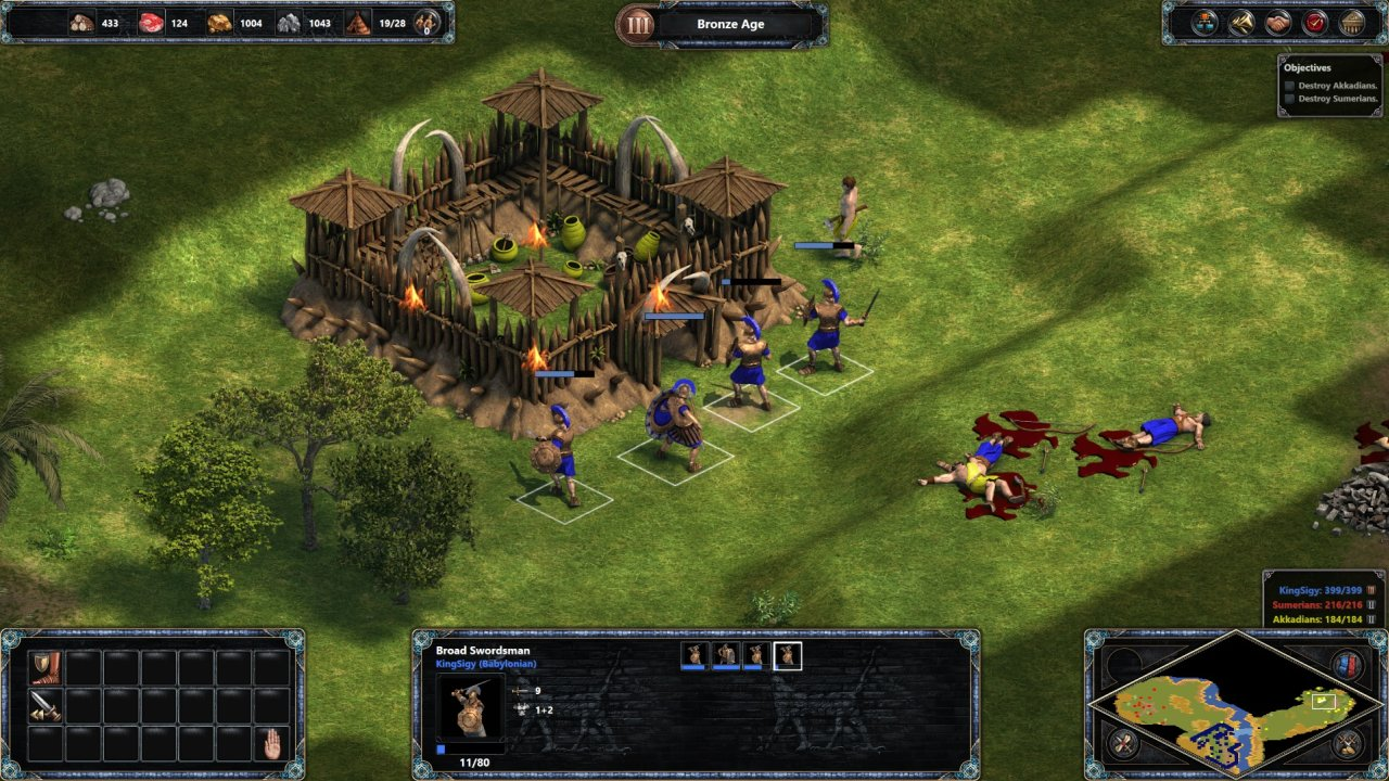 click to enlarge. Age of Empires: Definitive Edition screenshot