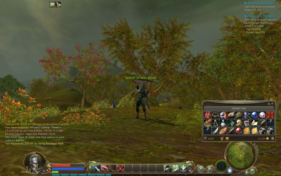 Aion gamers can Pay for cosmetic character changes in 2010