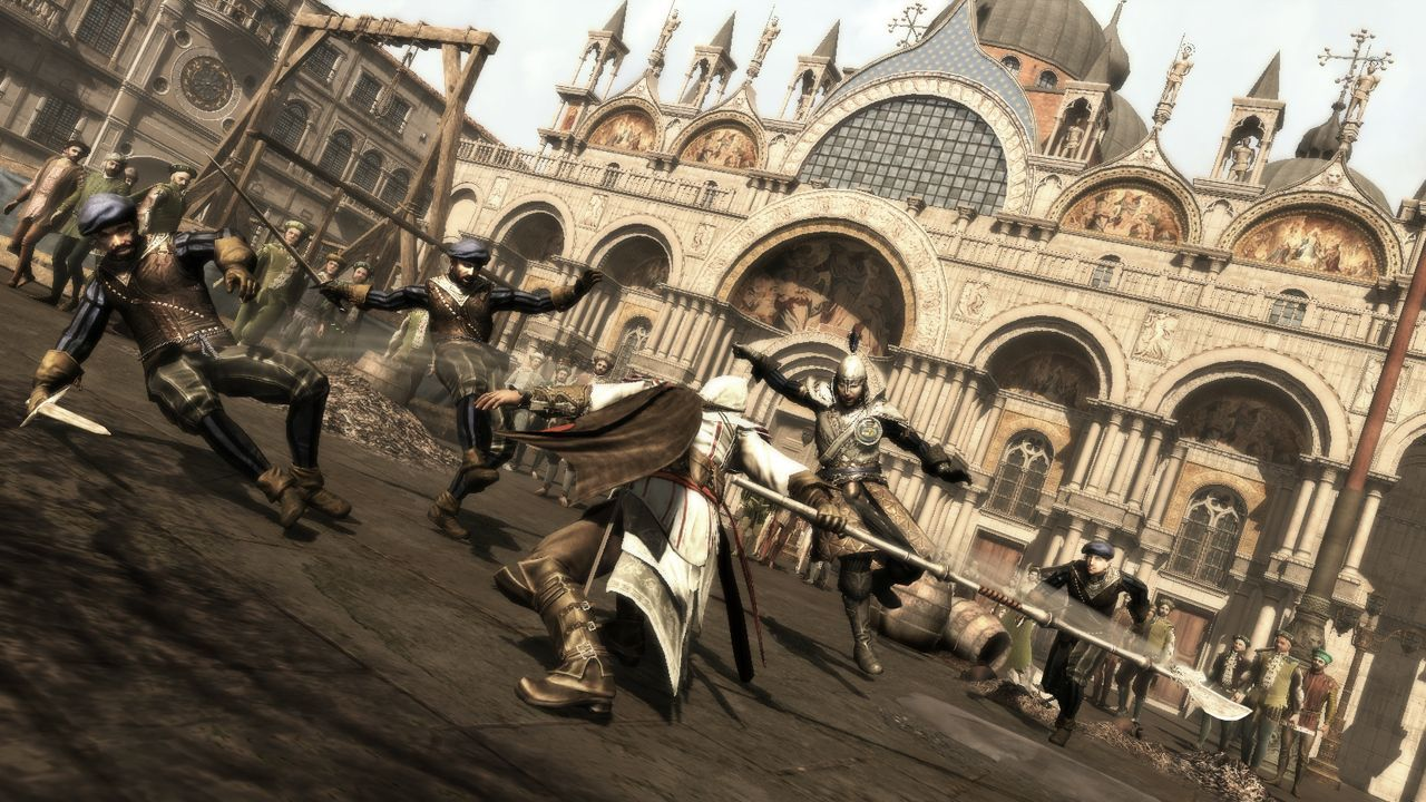 Assassin's Creed 2 DLC ripped from the finished game