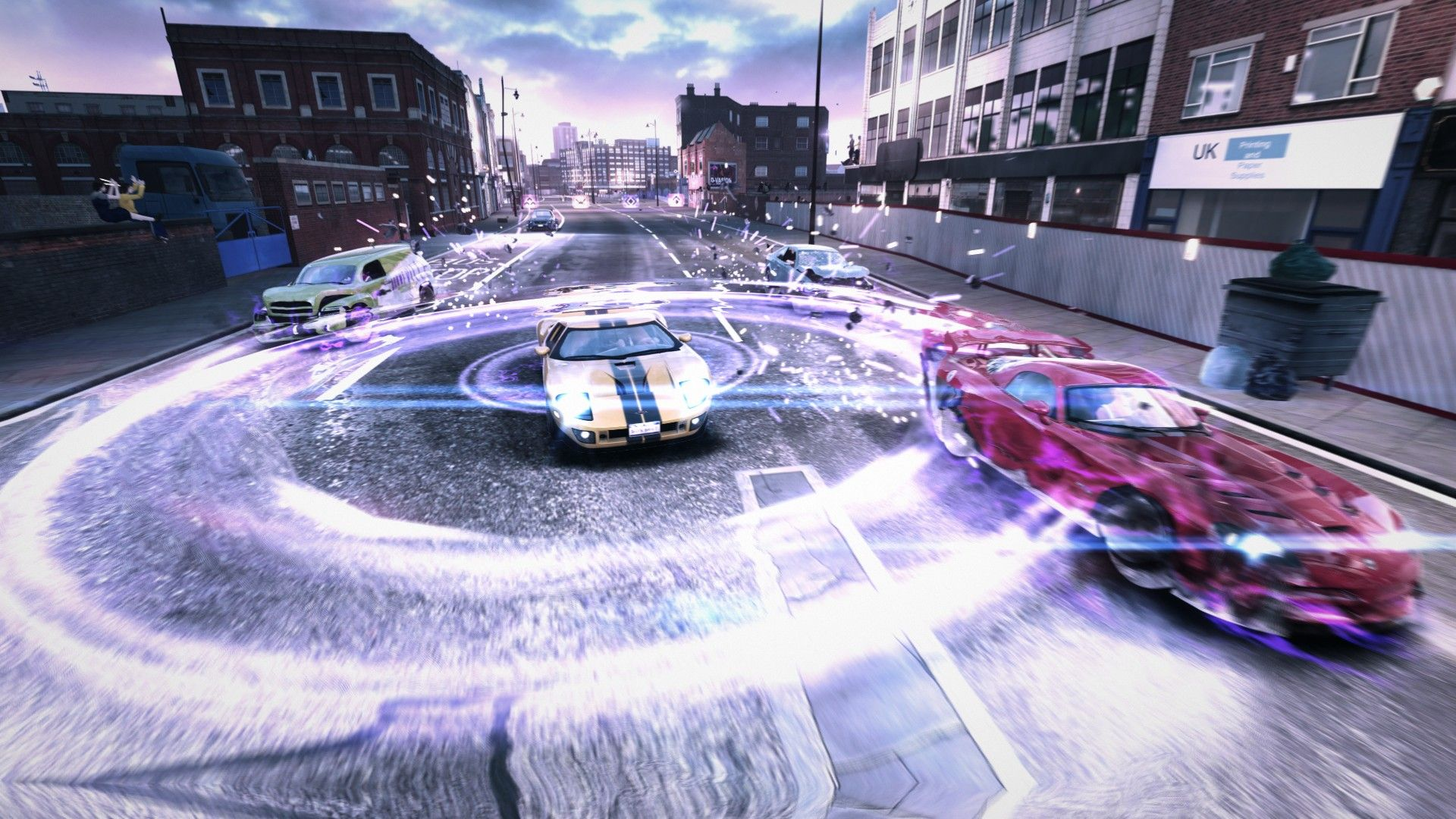 Blur racing game