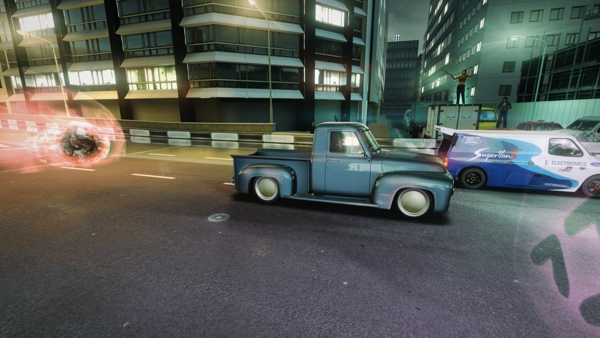 Blur racing game