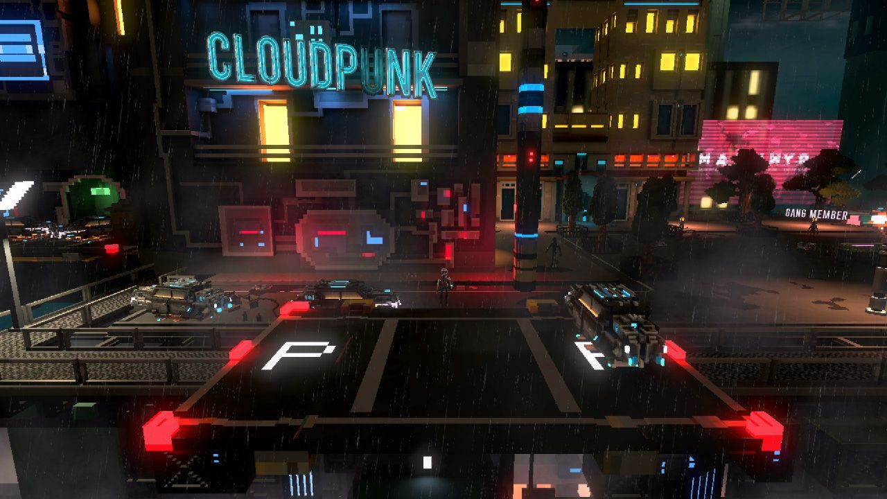 Cloudpunk Game