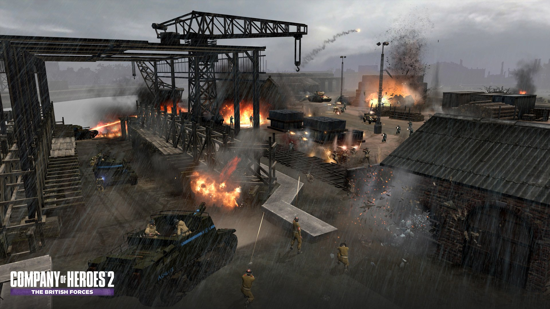 Coh2 The British Forces Screenshots Image 17694 New Game Network