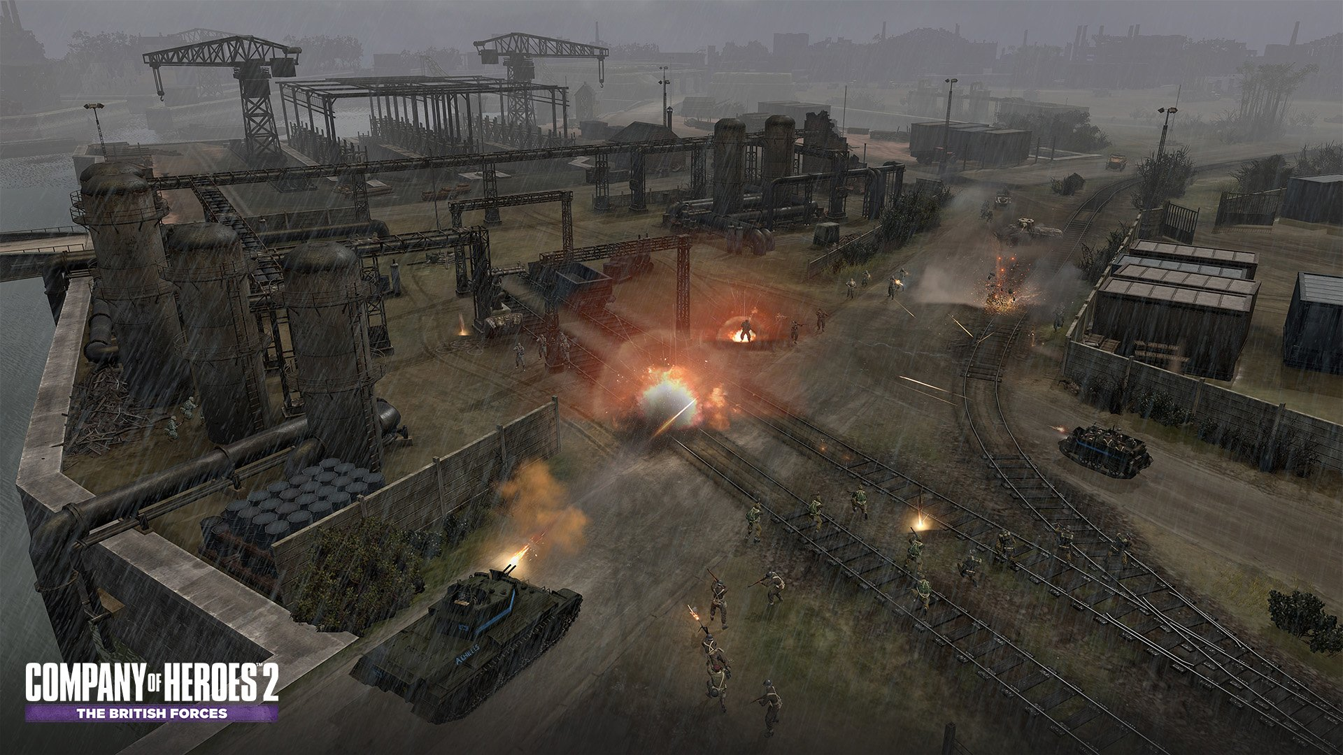 Coh2 The British Forces Screenshots Image 17690 New Game Network