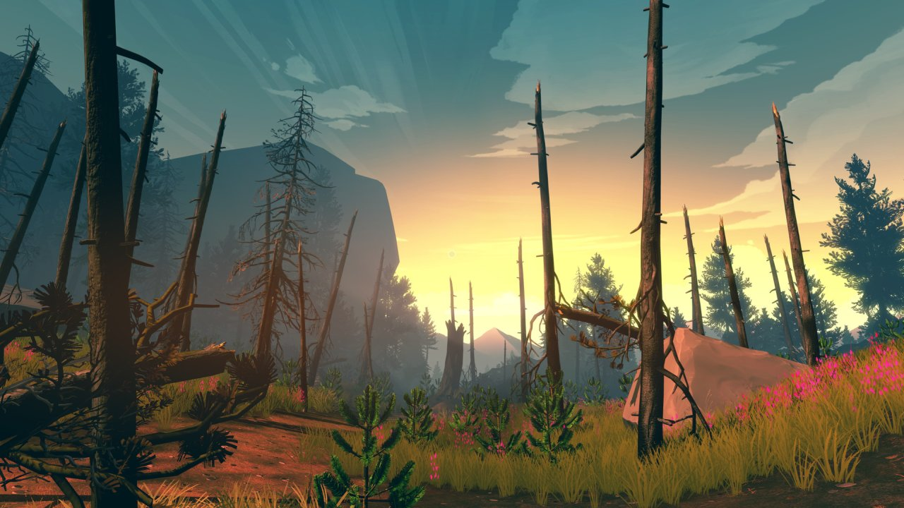 Firewatch PS4 game