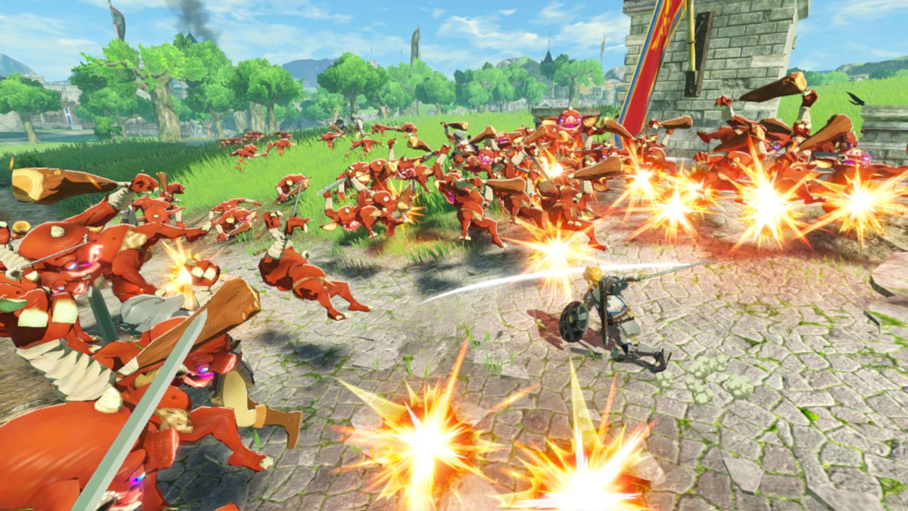 Hyrule Warriors Age Of Calamity Review New Game Network