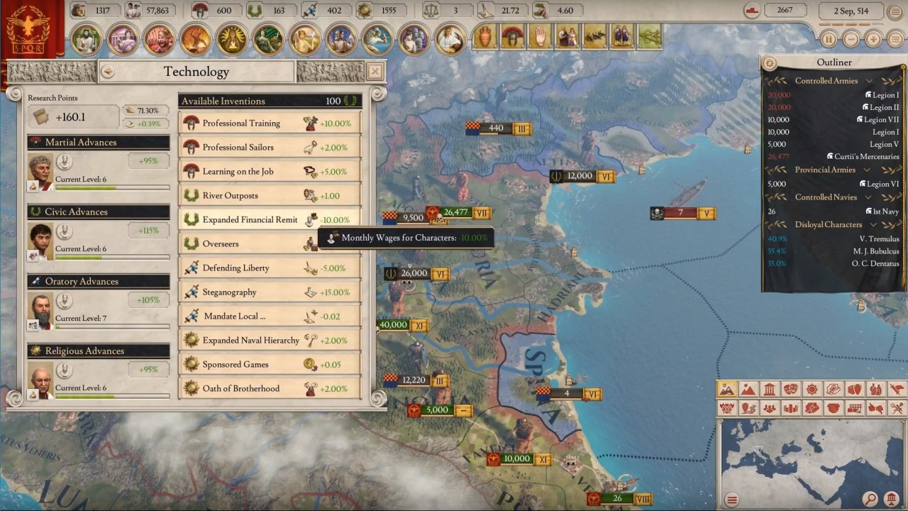 Imperator: Rome PC game