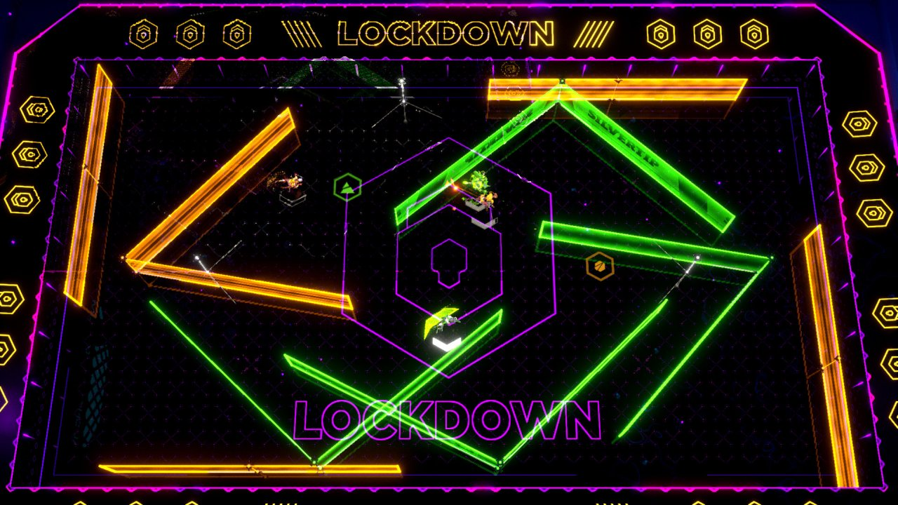 Laser League game