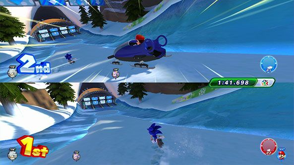Mario and Sonic at the Sochi 2014 Olympic Winter Games