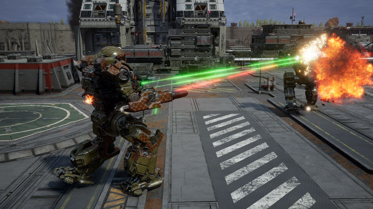 Mechwarrior 5 apparently runs very well on Linux with Proton