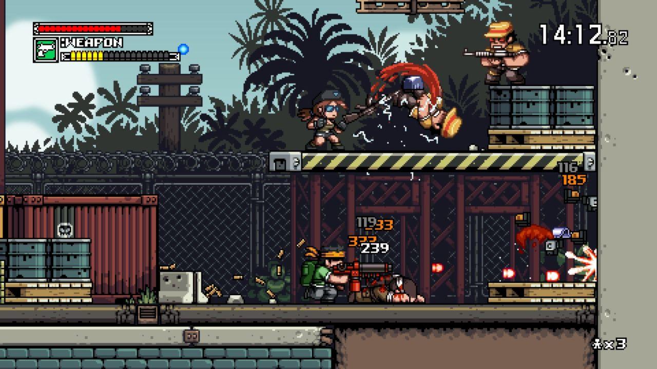 Mercenary Kings game