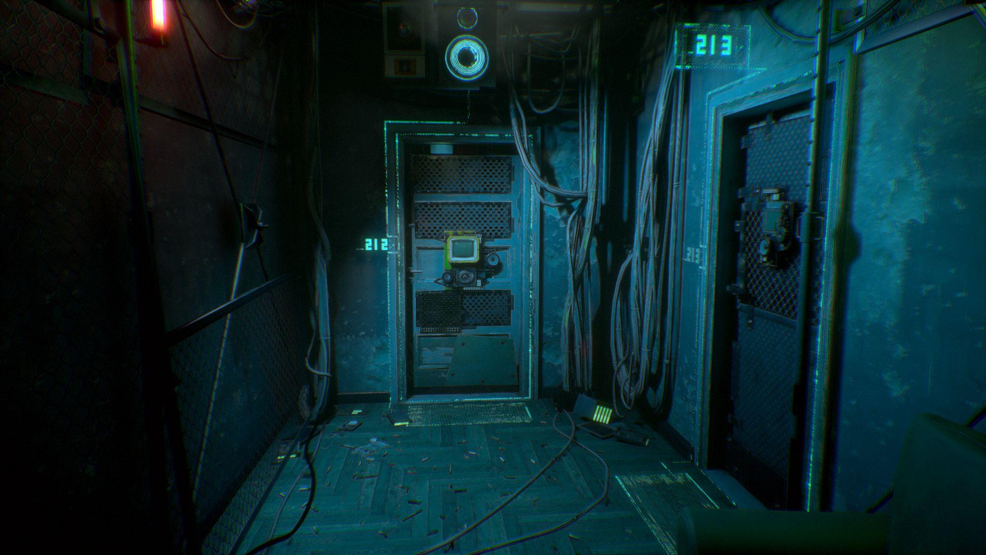 Observer horror game