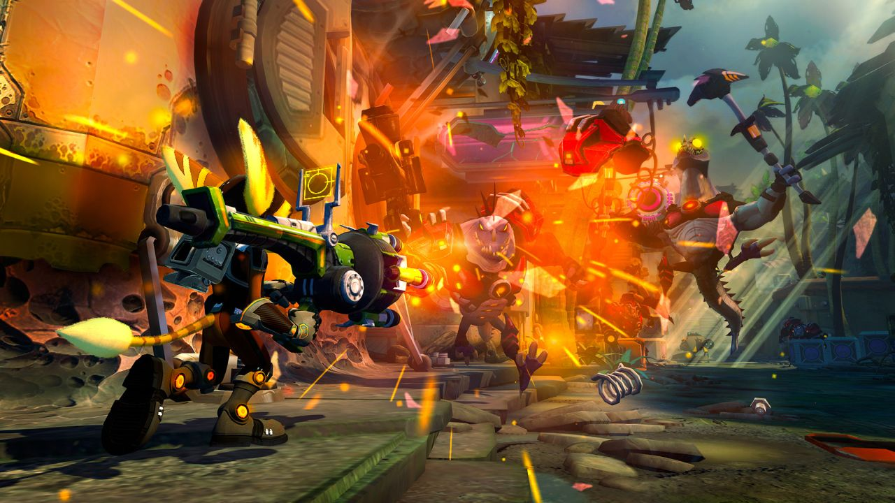 Ratchet Clank Into The Nexus Review New Game Network