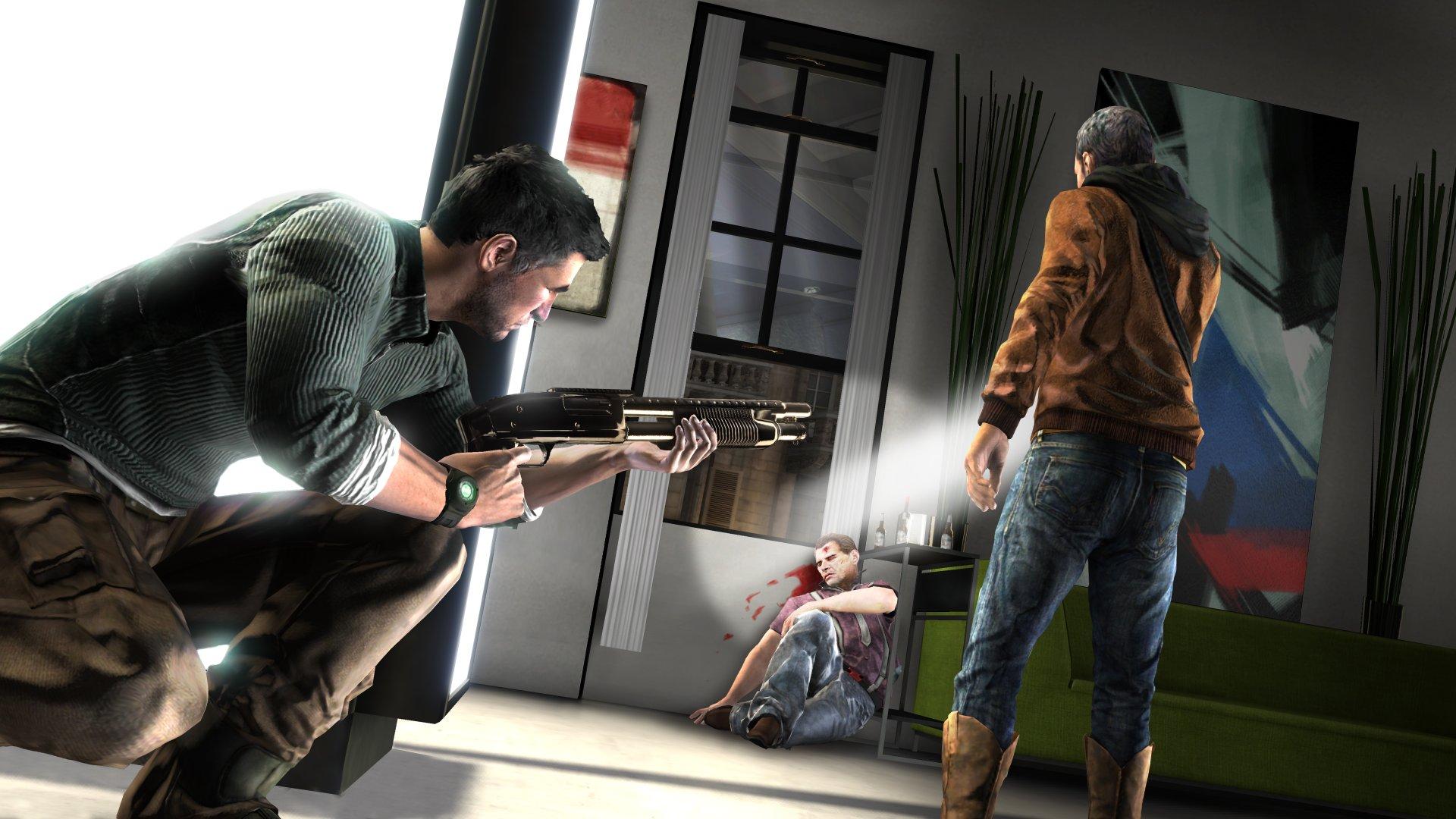 Splinter Cell: Conviction Screenshots -