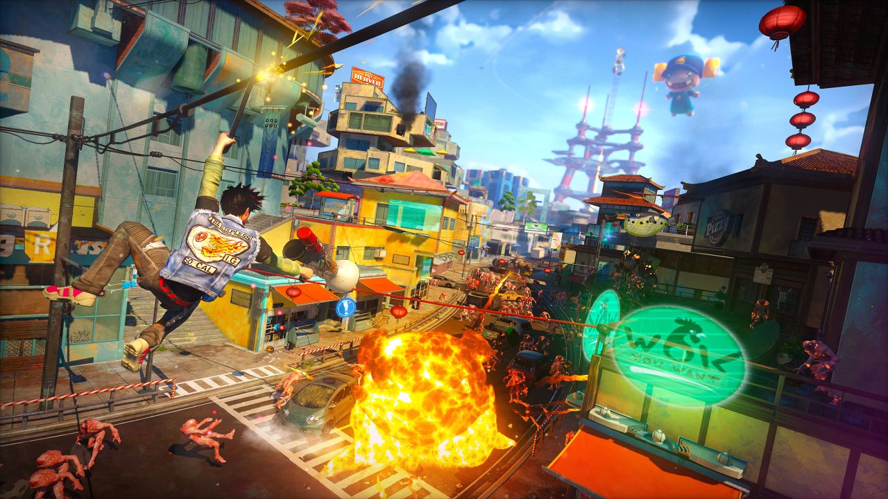 Sunset Overdrive Review New Game Network