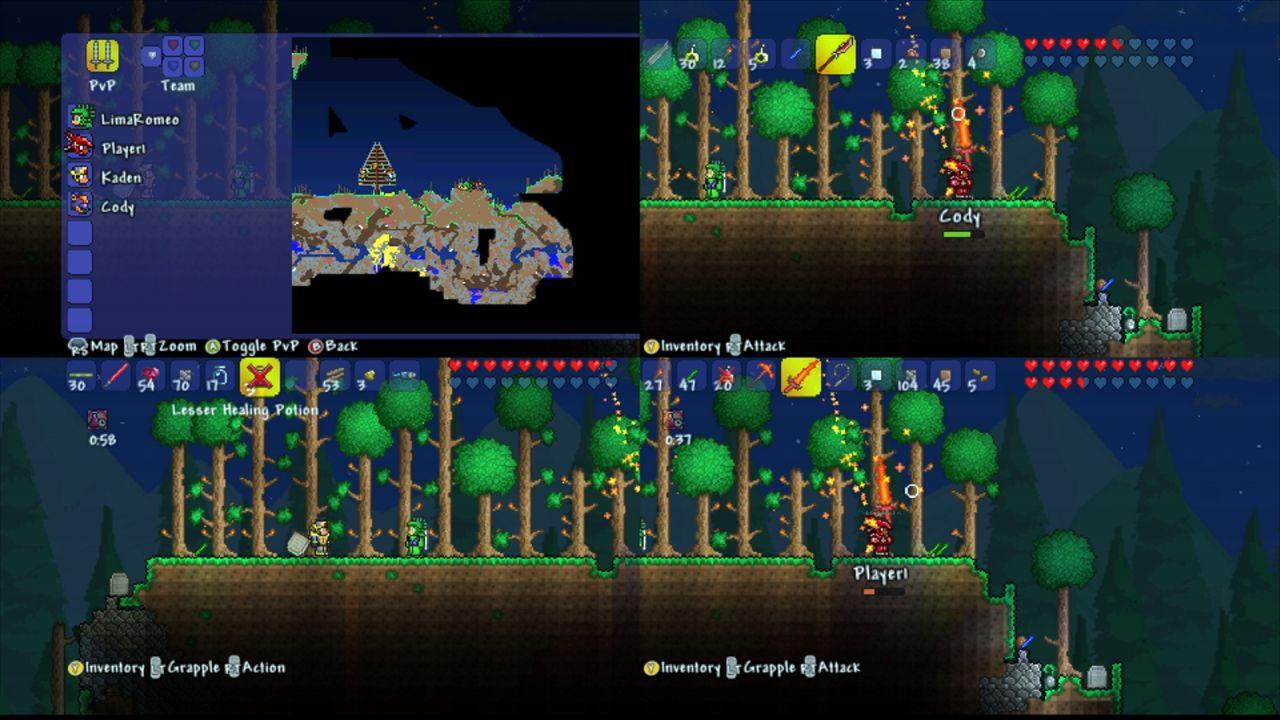 Terraria PS Screenshots Image New Game Network - Minecraft wii u spieletipps