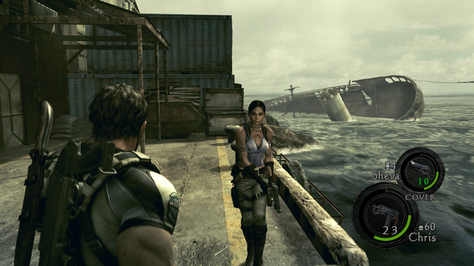 Resident Evil 5 Screenshot Image 640 New Game Network