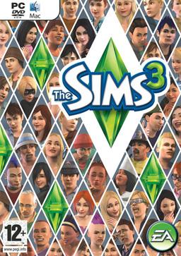 Sims 3 box art
