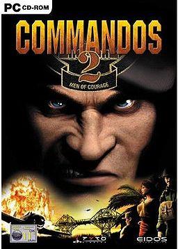Commandos 2: Men of Courage box art