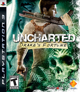 Uncharted: Drake's Fortune box art