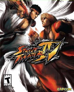 Street Fighter 4 box art