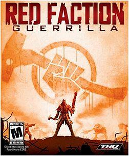 Red Faction: Guerrilla box art