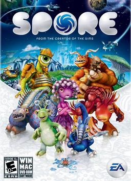 Spore box art
