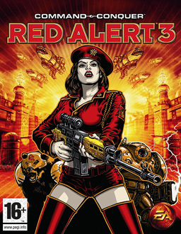 Command & Conquer: Red Alert 3 box art