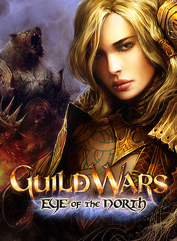 Guild Wars Eye of the North box art