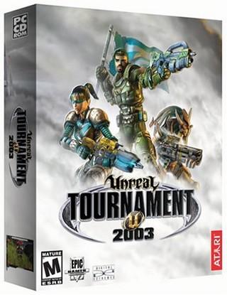 Unreal Tournament 2003 box art