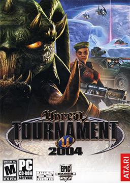 Unreal Tournament 2004 box art