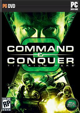 Command & Conquer 3: Tiberium Wars box art