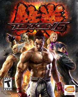 Tekken 6 box art