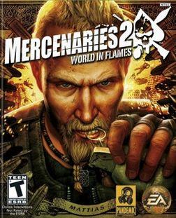 Mercenaries 2: World in Flames box art