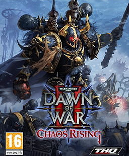 Dawn of War II - Chaos Rising box art