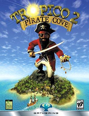 Tropico 2: Pirate Cove box art