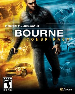 Bourne Conspiracy, The box art