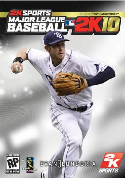 Major League Baseball 2K10 box art
