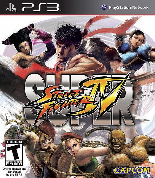 Super Street Fighter IV box art