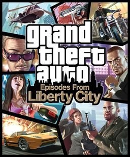 Grand Theft Auto: Episodes From Liberty City box art
