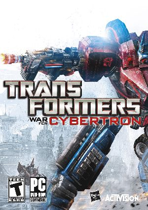 Transformers: War for Cybertron box art