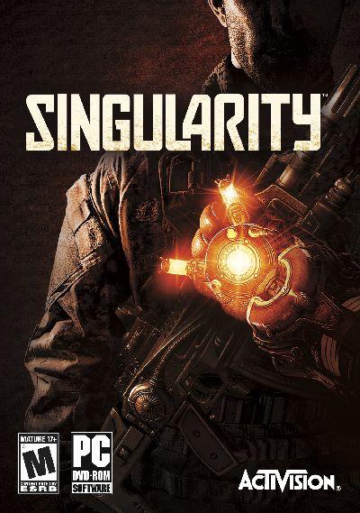 Singularity box art