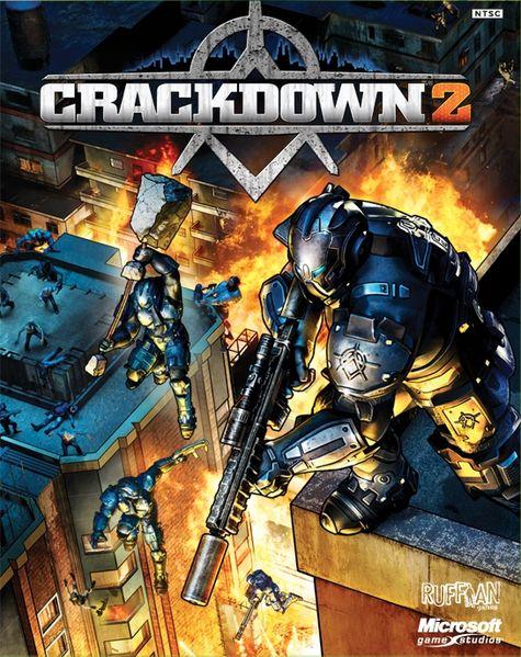 Crackdown 2 box art