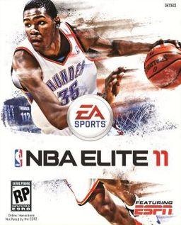 NBA Elite 11 box art