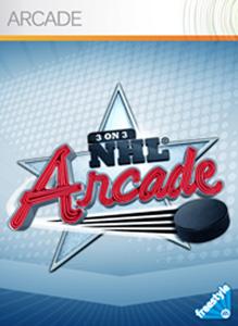 3 on 3 NHL Arcade box art