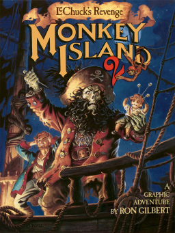 Monkey Island 2 Special Edition box art