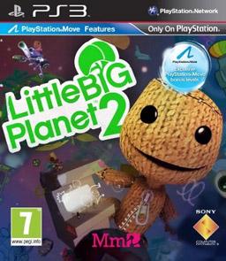 LittleBigPlanet 2 box art